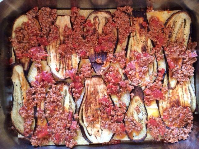Eggplants for Mousaka