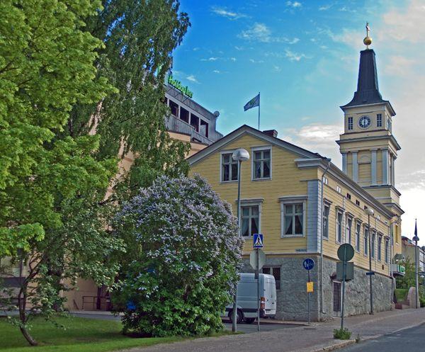 Oulun keskustaa