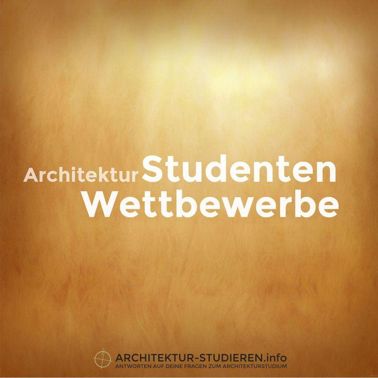 ÜBERSICHT: Aktuelle Architektur-Wettbewerbe für Studenten | © Architektur-stu…