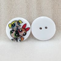25Y41764  22*22mm button flowers series high quality printed polyester ribbon, DIY handmade materials, wedding gift wrap