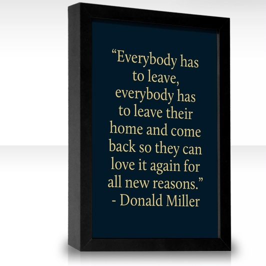 Love me some Donald Miller.