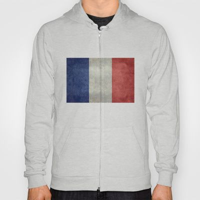 National Flag of France - Vintage Version Hoody