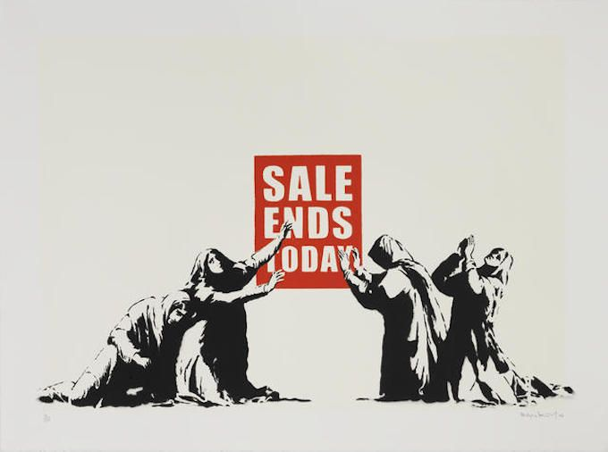 Over 30 Banksy Prints and Sculptures From His Former Agent's Collection Are Headed to Auction | Complex
