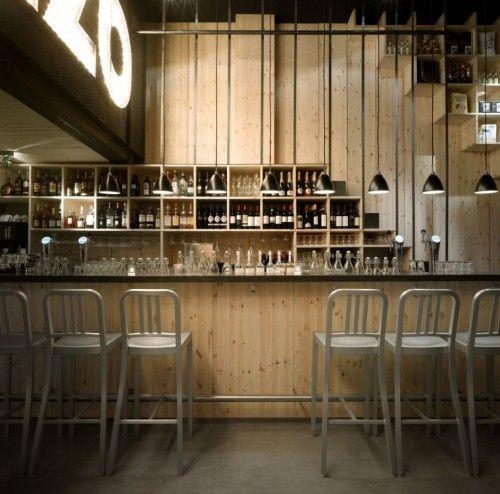 Restaurant design mazzo by concrete architecture