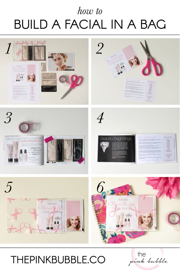 Mary kay online agreement on intouch - How To Build A Facial In A Bag