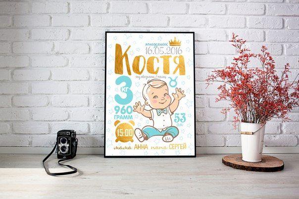Фотографии Metrics baby - метрика для новорожденных