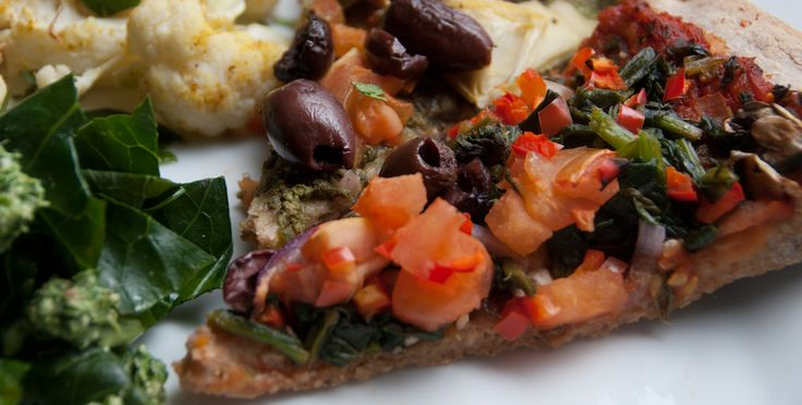 Vegan Pizza: Yummy Recipes Food, Engine 2 Recipes, Plants Strong, Plants Based Diet, Green Pizza, Food Plants, Diet Green, Vegans Vegetarian Recipes, E2 Diet