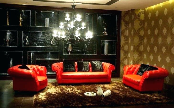 Black Red Living Room Decorating Ideas Gold Decor White Black Living Room Set Red Leather Sofa Living Room Living Room Leather