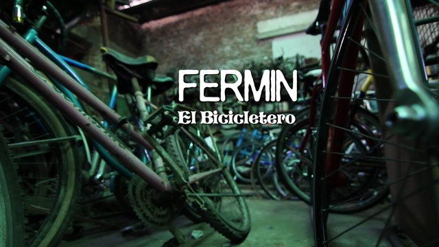 "Check out ""FERMIN, el bicicletero"", lo nuevo de HdA FILMS!!!  Filmed and edited by Huellas del Alma FILMS www.huellasdelalma.com"