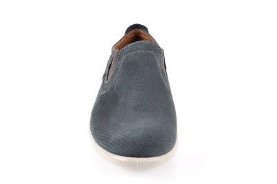 Miesten siniset nupukkinahka kengät.