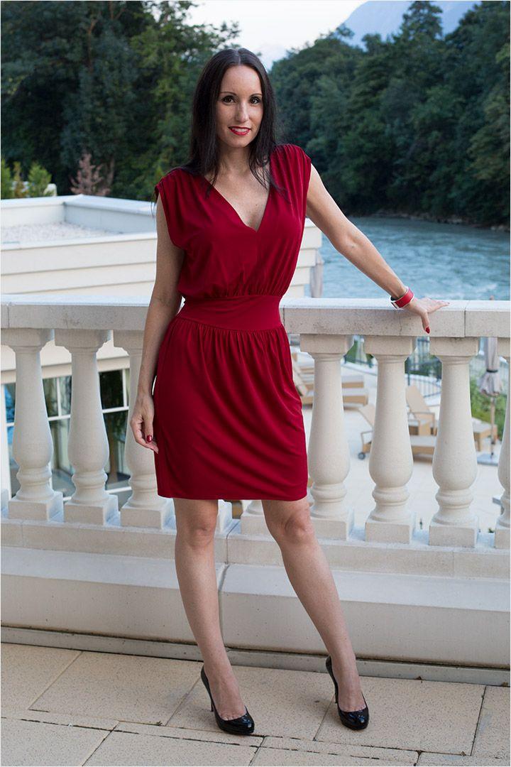 Fashion Blog Berlin - Modeblog Update mit rotem Cocktailkleid   Red ...