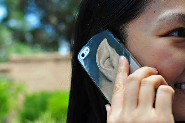 Spock Phone Case | 33 DIY Gifts You Can Make In Less Than An Hour