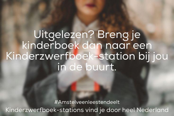 Zoek een Kinderzwerfboek station bijhouden in de buurt. PR.