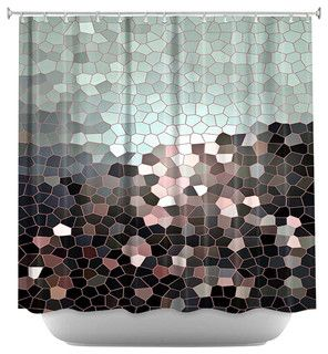 Patternization III Shower Curtain - contemporary - shower curtains - by Dianoche Designs