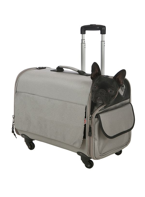 Large Taupe Travel Carrier | Dog Pet Carriers at Urban Pup