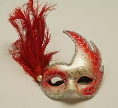Mascaras veneciana Cigno Past + Piu   TODO FIESTA