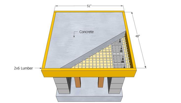 DIY Outdoor Pizza Oven | Concrete Countertop Plans | Grill | Pinterest |  Countertop, Oven And Concrete