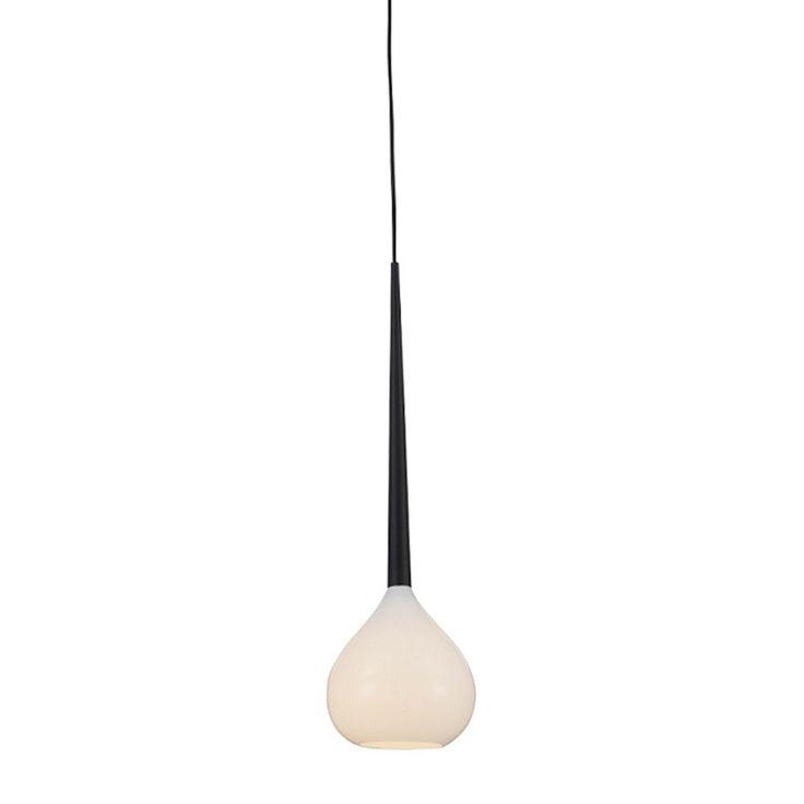 Azzardo Aga Pendant Light, White | ACHICA