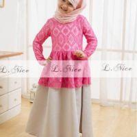 Jual baju muslim anak model kebaya - Lintangmomsneed.babyshop | Tokopedia