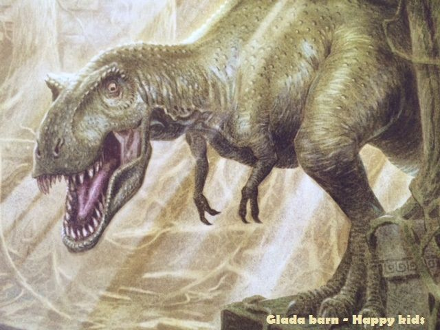 T. rex book illustration The absolute dinosaur blog