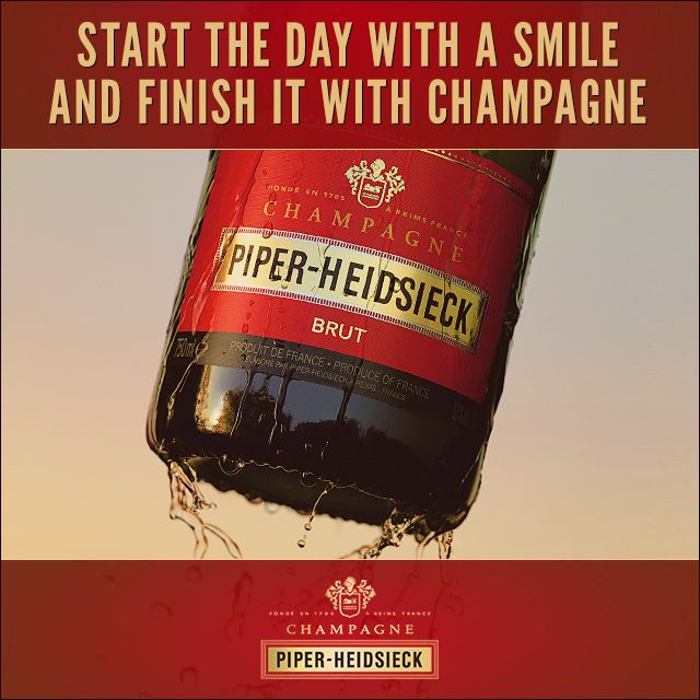 Champagne Tips and Quotes #champagne #piperheidsieck