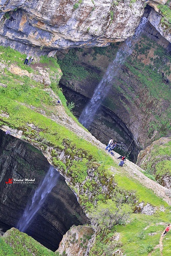 訪れるときはくれぐれも気をつけて。-バータラ峡谷, レバノン