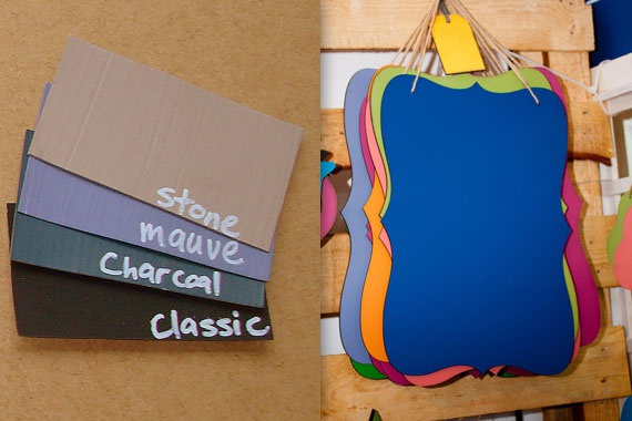 On The Way: Vintage Chalkboards. LOVE this for the kitchen or kiddies rooms.