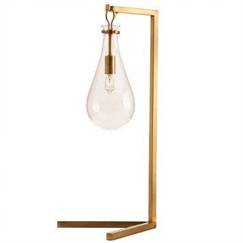 ARTERIORS Home Sabine Iron / Glass Desk Lamp - $480