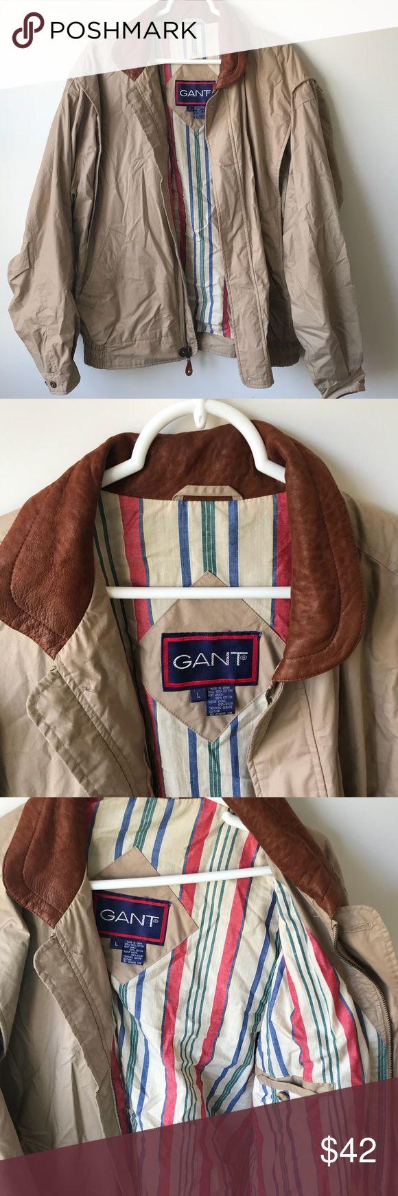 LARGE GANT JACKET perfect Christmas present!! buy asap((: Gant Jackets & Coats Lightweight & Shirt Jackets
