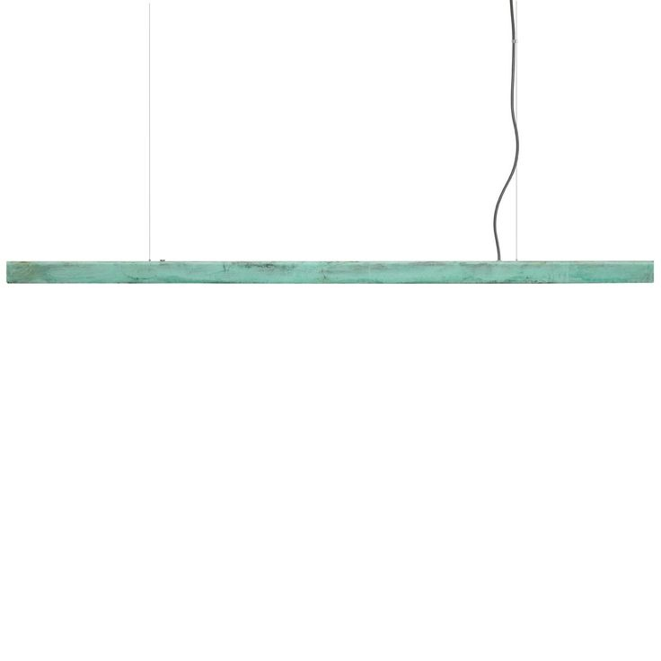 Anour Oxidised Copper Pendant Lamp - Blue | MQ000064201 | £1,180.00