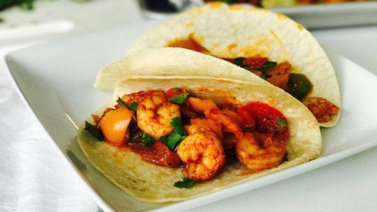 30 Minute Sheet Pan Cajun Shrimp Supper Bowls or Fajitas Recipes