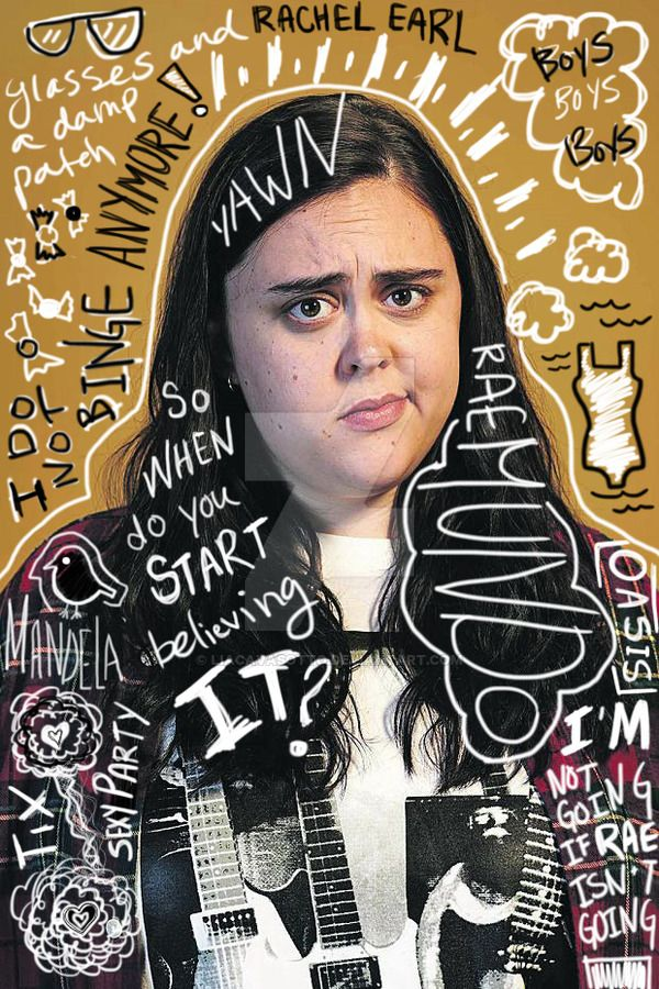 Rae | My Mad Fat Diary by LiaCavasotto.deviantart.com on @DeviantArt
