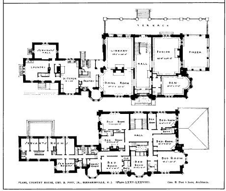 English Cottage House Plans With Guest French Country House Plans