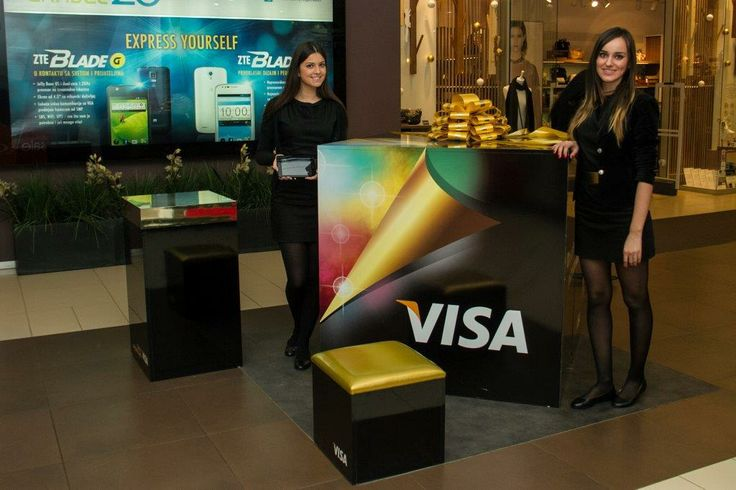 Visa stand - Shopping mall 'Ušće'
