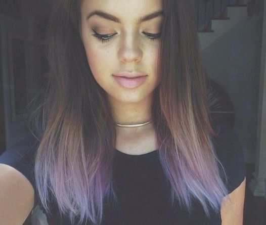 Best 25+ Hair tips dyed ideas on Pinterest | Colored hair tips ...