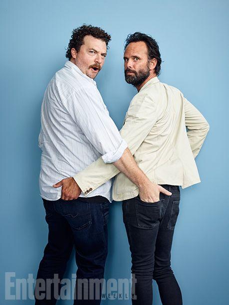 Comic-Con 2016 Star Portraits: Day 3 | Danny McBride and Walton Goggins, 'Vice Principals' | EW.com