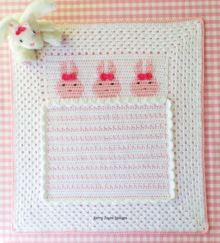 Bedtime Bunnies Blanket Pattern