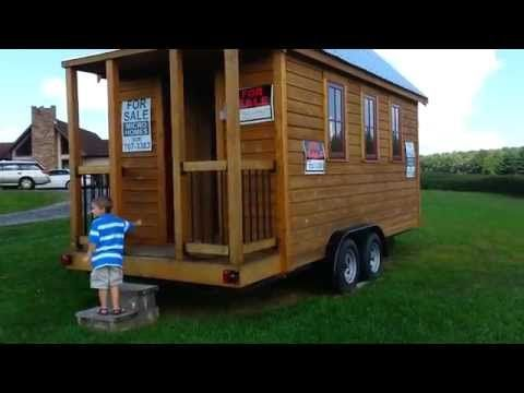 Tiny Homes For Sale / Pre-Built or Custom $32,000 , Off Grid Tiny House, Micro Homes - YouTube