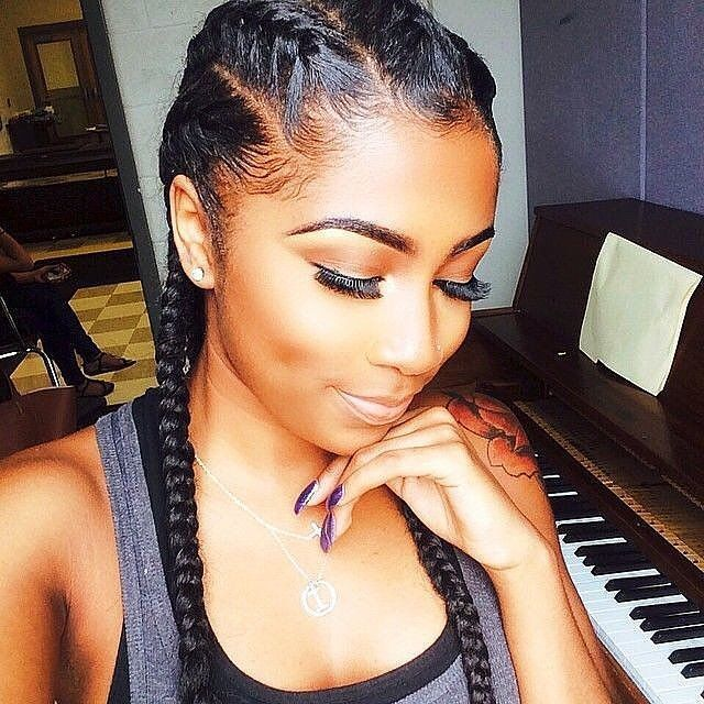 Prime 1000 Ideas About 2 Cornrow Braids On Pinterest Cornrow Ghana Hairstyle Inspiration Daily Dogsangcom