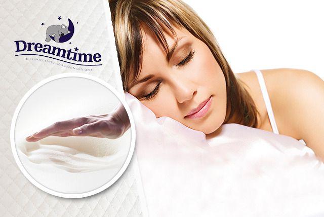 2 Dreamtime Memory Foam Pillows