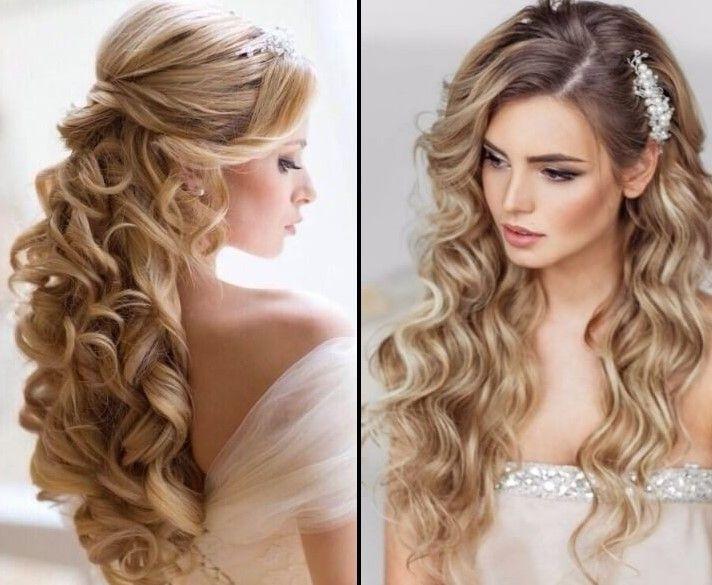 Brautfrisuren für die Blondinen