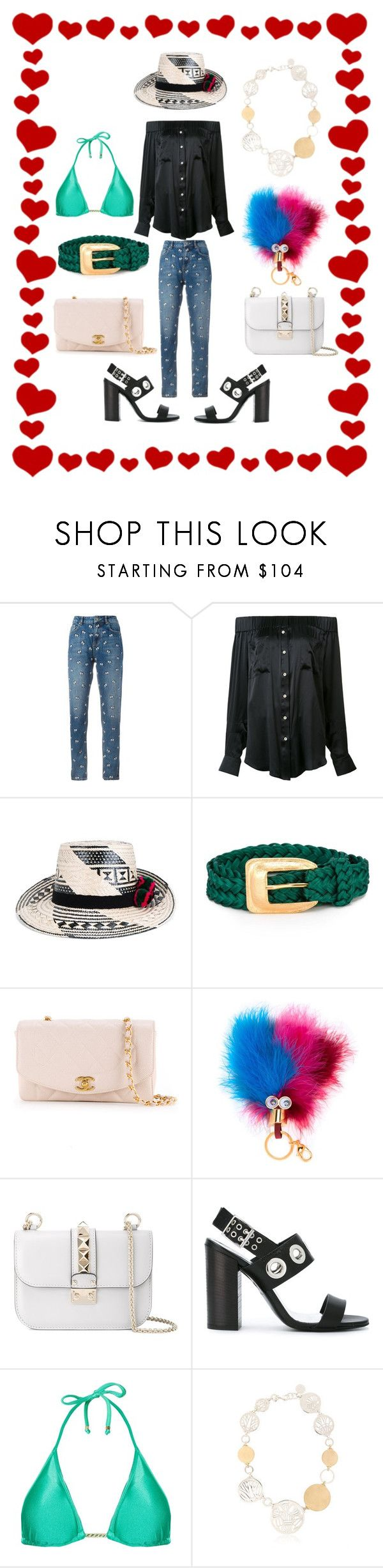 """superb fashion trends"" by monica022 ❤ liked on Polyvore featuring Zoe Karssen, Natasha Zinko, YOSUZI, Yves Saint Laurent, Chanel, Sophie Hulme, Valentino, Diesel, Amir Slama and AZZA FAHMY"