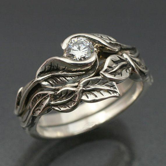 Gorgeous Rivendell ring set