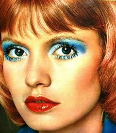 Image result for 1970s Disco Makeup