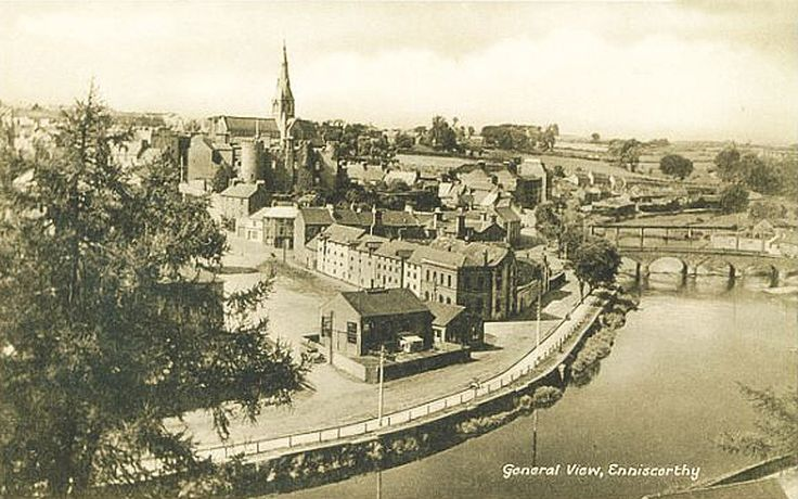 old photos ireland | Old Photos of Enniscorthy in County Wexford in the Republic of Ireland ...