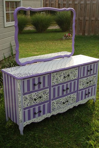 The Grape Escape by madteapartyfurniture, via Flickr