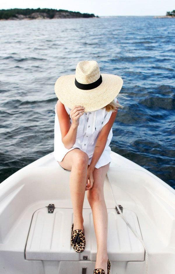 A Floppy Sunhat via Lauren Nelson: