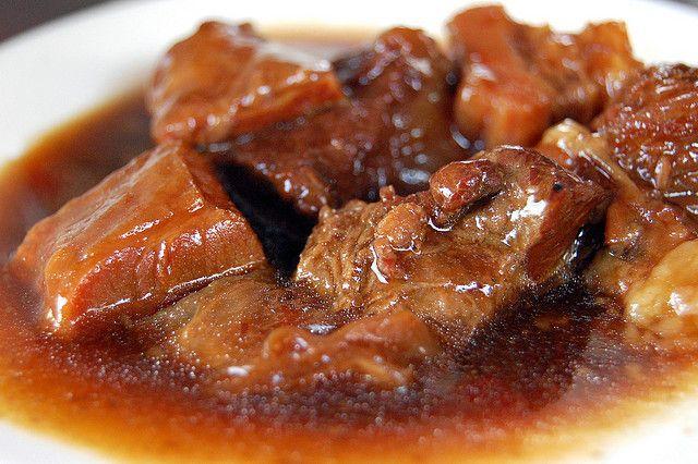 Beef Pares Filipino Dish