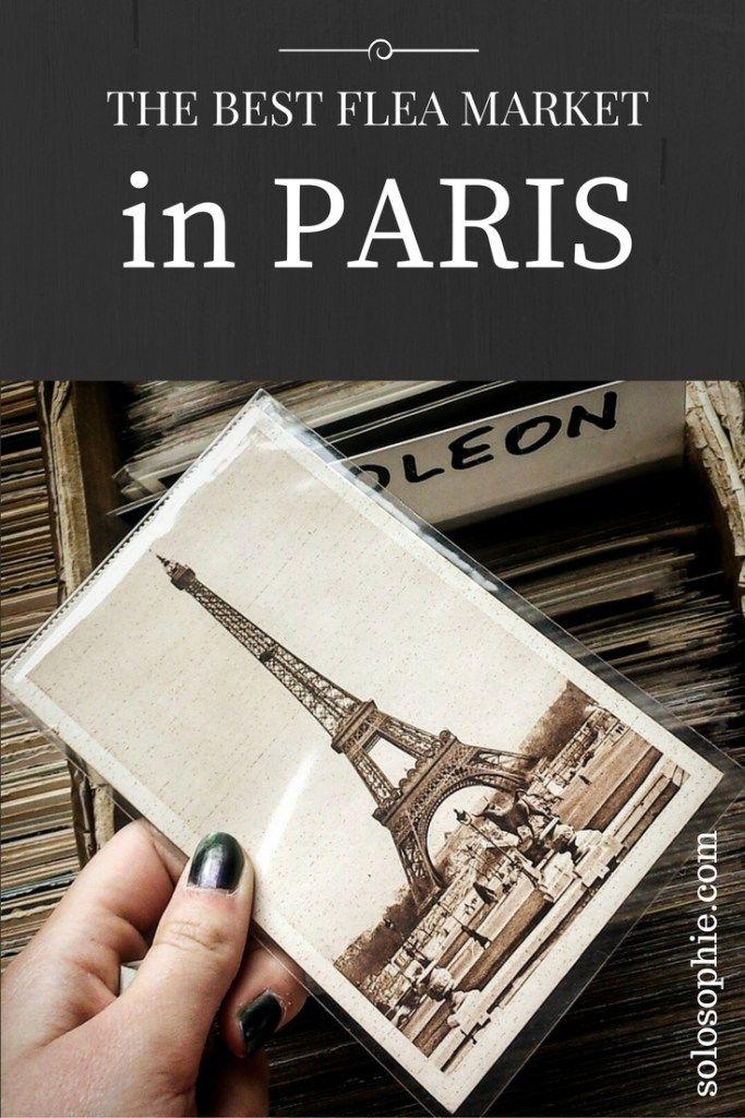 THE BEST FLEA MARKET IN PARIS   solosophie