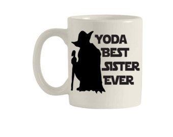 Star Wars taza taza de Yoda Darth Vader taza taza de café